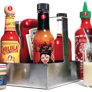 Condimenten, sambal en chutney's
